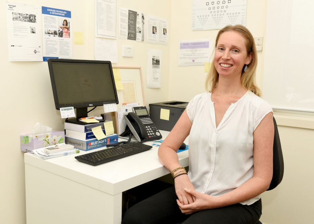 Chronic Disease Co-ordinator Kylie Shaw Langpark Medical Centre