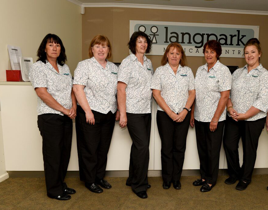 Langpark Medical Centre administration team