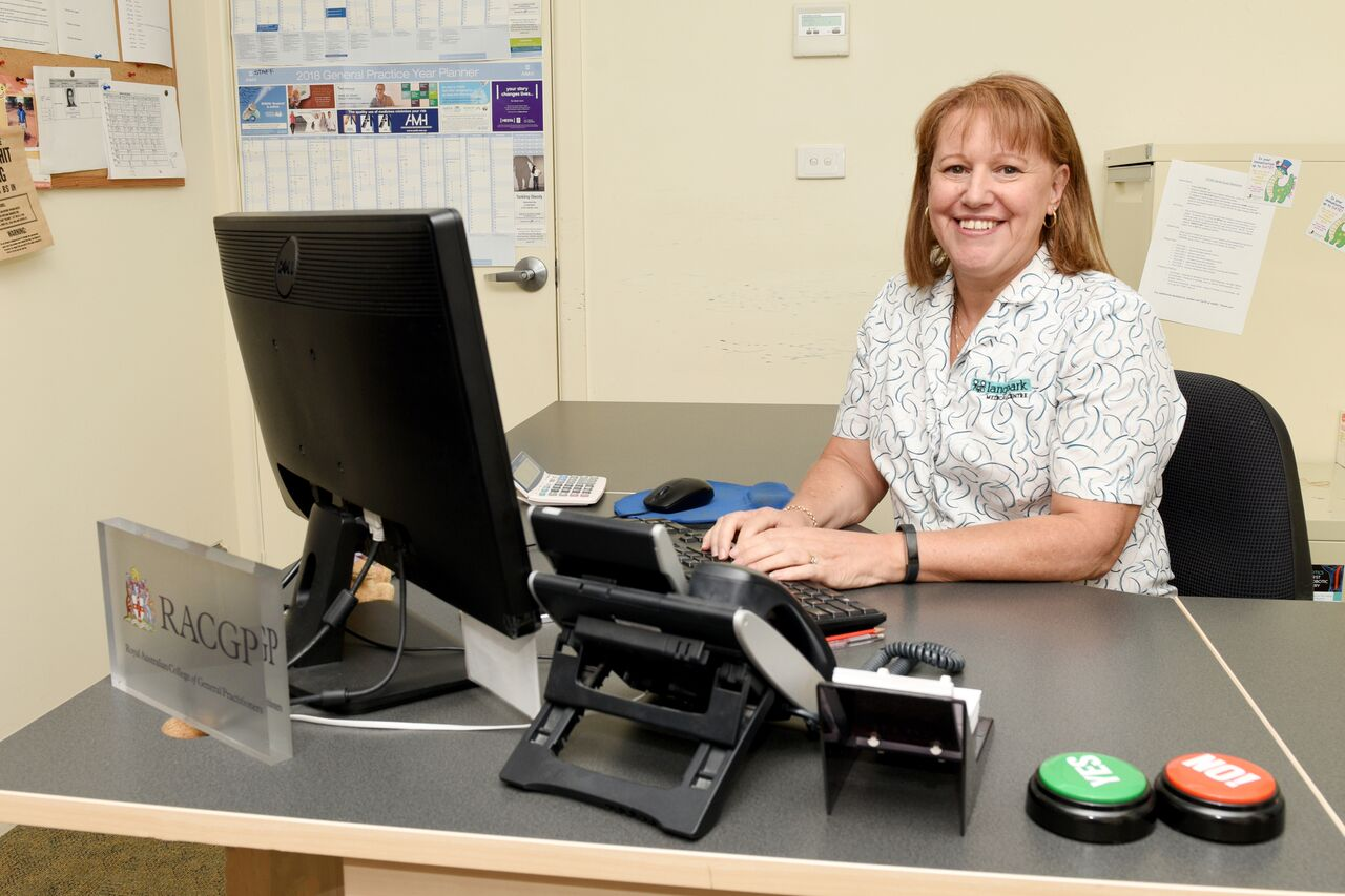 Langwarrin medical clinic office manager Katie Livesy